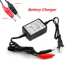 12V Battery Power Trickle Charger 100-240V AC For Car Auto Motorcycle Maintainer