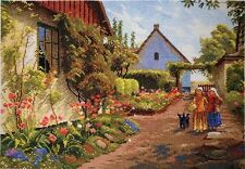 """Counted Cross Stitch Kit MARYA ISKUSNITSA (MARY WEAVER) - """"Houses in flowers"""""""