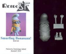 RetroKits Models Smurfing Bananaaa! Smurf Minion Resin Figure
