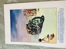 m17a7 book plate ephemera undated shuffrey timing a motorcycle by photo cell