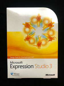 Microsoft Office Expression Studio 3 (PJS-00940) sealed retail box genuine
