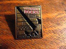 Kentucky Derby Festival Lapel Pin - Vintage 2005 Thunder Rocks Rock & Roll Pin