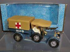 MATCHBOX MODEL OF YESTERYEAR  No.Y-13 CROSSLEY RAF  TENDER  / AMBULANCE  MIB