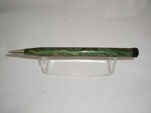 Vintage TEMPO SPARSTIFT Green Twist Mechanism Pencil 1950-60'(K)