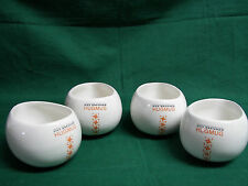 Max Brenner Hugmug Set of 4 Mugs Coffee or Hot Chocolate by the Bald Man