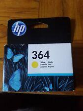 Genuine Original & Sealed HP 364 Ink Cartridge  - Yellow CB320EE FREE POST