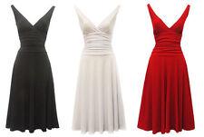 Rockabilly Vintage-Kleider für Damen aus Polyester