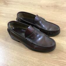 129baae70e9 Loake Made in England Oxblood Dark Brown Leather Penny Loafers Princeton 6