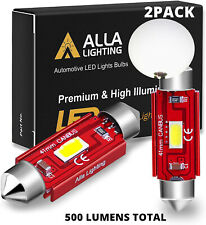 AllaLighting 561 LED Interior Dome Map Courtesy Overhead Light Bulb,Bright White