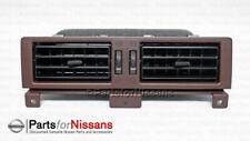 Genuine Nissan Vent-Center Up Black 68750-23G02