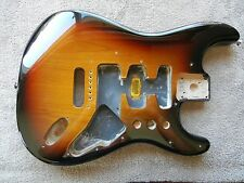 Fender Lone Star Stratocaster Strat Project BODY Sunburst 2011 Under 4lbs