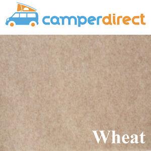 20 Sq Mtrs Wheat Van Lining Carpet Kit 4 Way Stretch Inc 5 Tins High Temp Spray