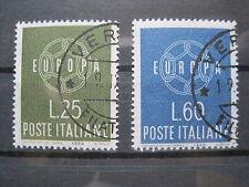 Italia MiNr. 1055-1056 timbrato Europa (S 865)
