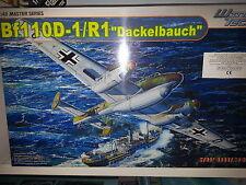 """MESSERSCHMITT Bf 110D-1/R1 """"DACKELBAUCH"""" DRAGON 1/48 PLASTIC KIT"""