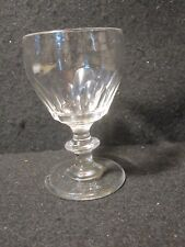 ANTIQUE GEORGIAN REGENCY PETAL FLUTE CUT RUMMER CORDIAL WINE GLASS EXC. COND.