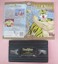 VHS film L'UOMO TIGRE vol.2 animazione 2000 MONDO 00157 (F167) no dvd