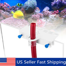 Acrylic Water Plant Tool Maintenance Side Holder Aquarium Tank Tweezer Pipe Set