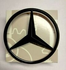 MERCEDES R172 CLASS SLK GLOSS BLACK REAR STAR BADGE EMBLEM 2011-2020