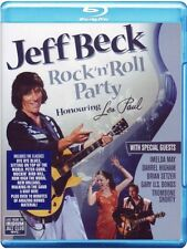 F7 BRAND NEW SEALED Jeff Beck Rock 'n' roll Party - Honouring Les Paul (Blu Ray)