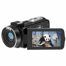 Video Camera Camcorder, FamBrow Full HD 1080p 24MP 3.0 Inch TFT LCD 270 Degrees