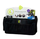 GO by Goldbug Stroller Organizer Black Storage Bottle and Cup and Wipes Holder
