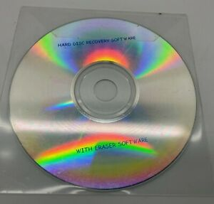 Hard Disk Recovery Software with Eraser Software CD
