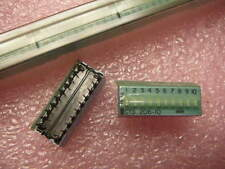 CTS 206-10 DIP Switch Slide 10 Position SPST 2.54mm  **NEW**  Qty.4