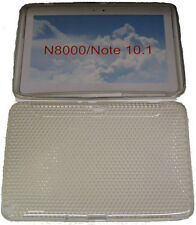 "Pattern Gel Case Protector Cover Clear For Samsung Galaxy Note 10.1"" N8000 N8010"