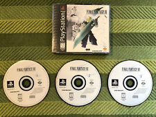 New listing Final Fantasy Vii 7 (PlayStation 1, Ps1, 1997) Ff7 No Manual Tested Black Label