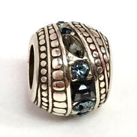 Brighton Treasure Isle Bead, Silver Finish, Crystals J98912, New