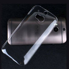 For HTC One2 II M8  New Crystal Clear hard case DIY cover