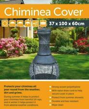 New Green Large Waterproof Chiminea Cover Outdoor Heavy Duty Protector 37x100x60