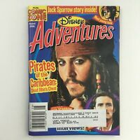 Disney Adventures Magazine August 2006 Johnny Depp & Orlando Bloom, VG