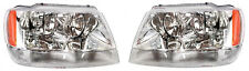 NEW HEAD LIGHT LAMP for JEEP GRAND CHEROKEE 1999-2005 LAREDO/LIMITED PAIR LH+RH