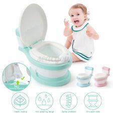 Kids Portable Potty Seat Training Toilet Baby Toddler Boys Girls Stool Bathroom