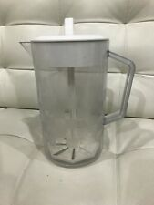 Pampered Chef Quick Stir 2 quart Checkerboard Pitcher # 2270 Preowned