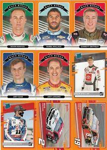 2021 Panini Donruss NASCAR Racing Parallel Orange Border - Pick Your Card