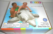 Inflatable 2014 Float Ride-On Dolphin Swimming Pool Toy For Kids Rideable Large