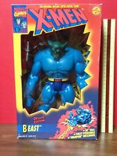 """1994 Toy Biz X-Men The Beast 10"""" Deluxe Edition Action Figure"""