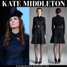 Temperley London 'Noa' Silk Skirt, Black, US6 UK10, ASO Royal Celebrity