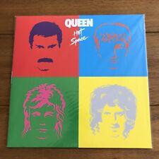 "Queen - Hot Space  12"" Blue vinyl Lp  Sealed"