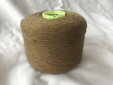 100% Raw Silk In Camel Shade700gram Cone.1/12nm Hand/machine Knit.Craft/crochet.
