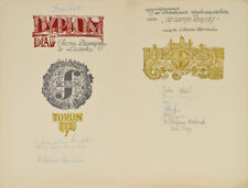 Pope John Paul II - Polish Festival of Sacrosong Diploma Signed - RR Auction COA