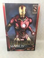 iron man 2 mark lV mms . 1/6th scale collectible figure exclusive hot toys