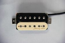 Johnny Eleca Electric Guitar Pickup Humbucker, Neck, Zebra, PGH-2N-Z