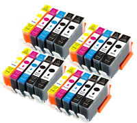Printer Ink Cartridges Combo for 564 XL Photosmart C6375 D5468 C6380 7515 C6383