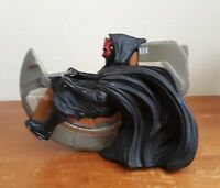 STAR WARS EPISODE 1 DARTH MAUL ON SITH SPEEDER BIKE / COIN BANK