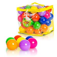 FoxPrint Soft Plastic Kids Play Balls – Non Toxic, 50 Phthalate & BPA Free - & &