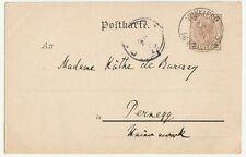 Winklern im Mölltal , Stempel, Motiv AK an Madame de Barsay, Pernegg