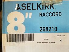 """Selkirk Double Wall Stove Pipe 8"""" Adapter 268210"""